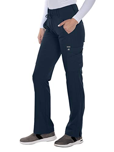 Grey's Anatomy Signature 2218 Trouser Cargo Pant Graphite XXS Petite