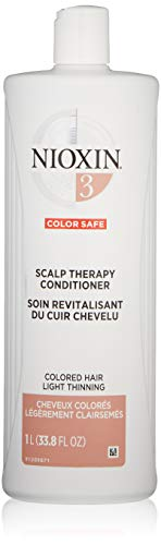 (Nioxin Scalp Therapy Conditioner System 3 for Color Treated Hair with Light Thinning, 33.8 Ounce )