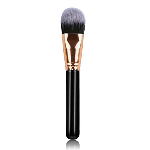 Averest Makeup Brush for Face, Foundation Brush Perfect For Blending Liquid, Cream or Flawless Cosmetics - Buffing, Stippling, Concealer - Premium Quality Liquid Makeup Concealer Brush
