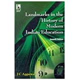 Landmarks in the History of Modern Indian Education