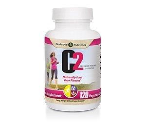 Chromium L-carnitine (C2 Chromium Picolinate & L-Carnitine 120 caps by BioActive Nutrients by BioActive NUTRIENTS)