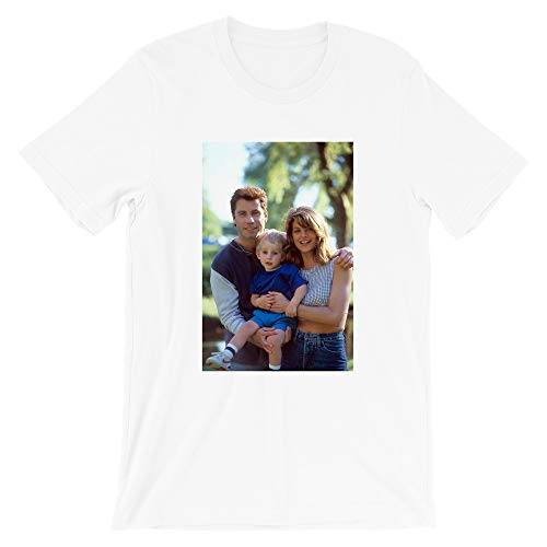 Look Whos Talking Photographic John Travolta Amy Heckerling 80s Movie Film Vintage Gift Men Women Girls Unisex T-Shirt (White-2XL)