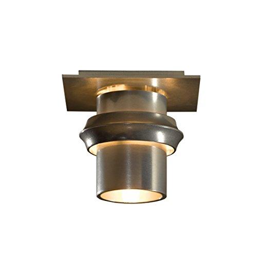 Hubbardton Forge 124910-1001 Twilight Flush Mount, Soft Gold ()