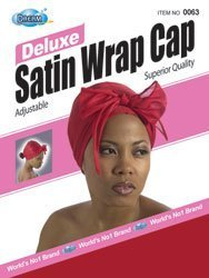 - Dream, Deluxe Satin Wrap Cap, Assorted Colors (Item #063)