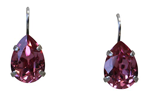 Mariana Rose Teardrop Swarovski Crystal Drop Earrings 209 ()