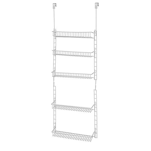 Grayline 410185, Adjustable 5 Shelf Organizer, White