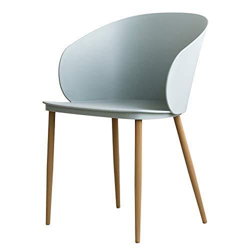 Kenay Home Loop Silla Salon, Verde, 55 x 54.5 x 80 cm