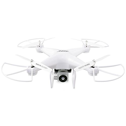 JJRC H68 RC Drone Wide Angle Lens 720P HD Camera Quadcopter WiFi FPV 1800Mah Battery (white) by Dreamyth