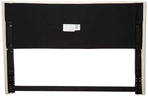 Eastern King/ California King Murrieta Headboard with Button Tufting Beige