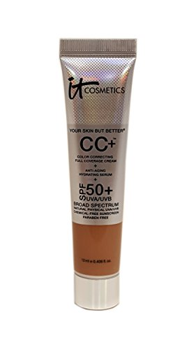 It Cosmetics Your Skin But Better CC Cream with SPF 50+ Travel Size -Rich - 0.406oz by It Cosmetics