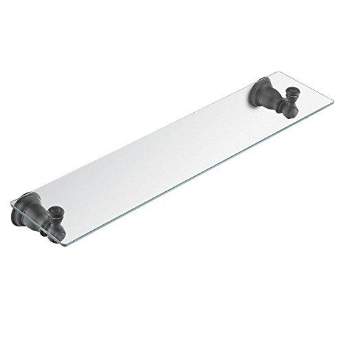 Moen YB5490WR Kingsley Vanity Shelf, Wrought Iron ()