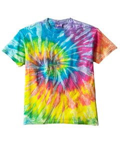 Tie Dye H1000B Youth Tie-Dyed Tee - Saturn Swirl, (Cheap Tie Dye Shirts)