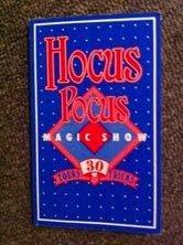 Hocus Pocus Magic Show 30 Tricks in 8 languages