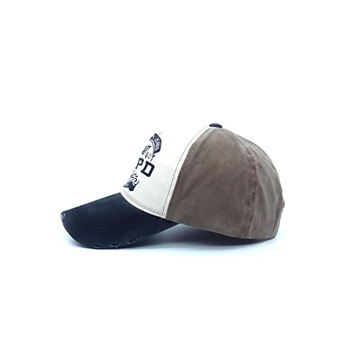 Llxln New Fashion High Quality Nypd Cap Unisex Couple Washed Cotton Adjustable Baseball Cap Casual