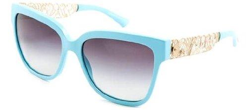 Dolce & Gabbana DG4212 Sunglasses-25868G Matte Azure (Gray Gradient Lens)-56mm