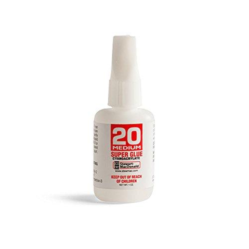 StewMac Super Glue, No. 20 Medium, 1 oz.