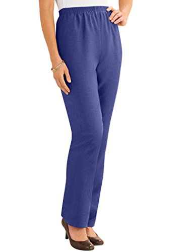 Alfred Dunner Petites' Classic Pants Indigo ()