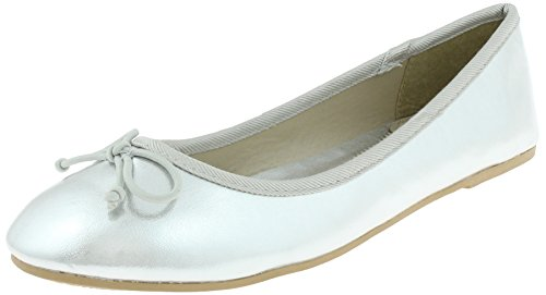Silver York New Flats Lace Capelli Ladies H0a16wxxPq