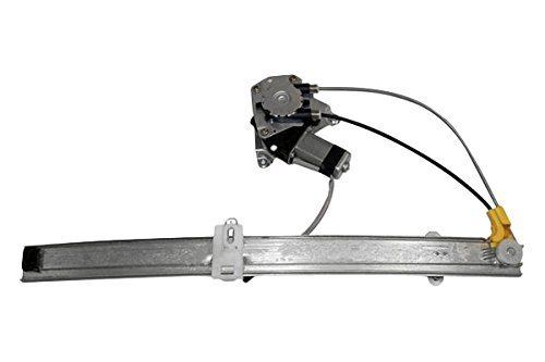 APDTY 111277 Window Motor & Regulator Assembly Rear Left Driver-Side Upgraded Cable Style Fits 2002-2006 Jeep Liberty (2006 Models Manufactured Up To 2-25-2006) (Replaces 68059647AA, 55360035AJ) Rear Left Window