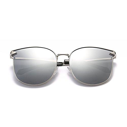 extérieur de voyage de plage D de en Lunettes E polarisées ZHIRONG protection Couleur cadre conduite de lunettes mode solaire métal HD contre UV soleil w6O5q