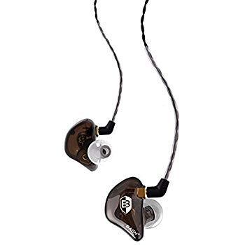 Top musician in ear headphones