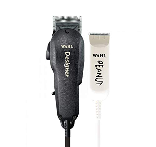 Wahl Professional All Star Clipper Trimmer Combo 8331 Features Designer Clip and Peanut Trimmer Includes Accessories