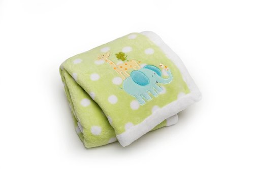 Embroidered Boa Blanket - 3