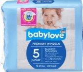 babylove pañales Premium tamaño 5, junior 12 – 25 Kg, ...
