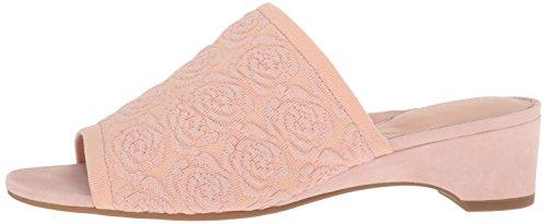 Taryn Heeled Rose Knit Nancy Women's Blush Sandal r4rzqHw