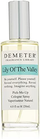 Demeter Unisex Cologne Spray, Lily of The Valley, 4 Ounce