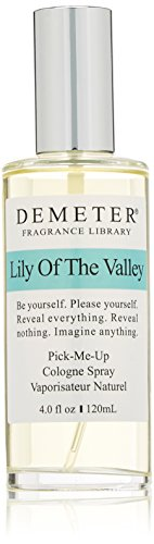 4 Ounce Lily - Demeter Unisex Cologne Spray, Lily of The Valley, 4 Ounce