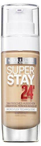 Maybelline New York Super Stay 24H Make-Up Sand 030, 1er Pack (1 x 30 ml)