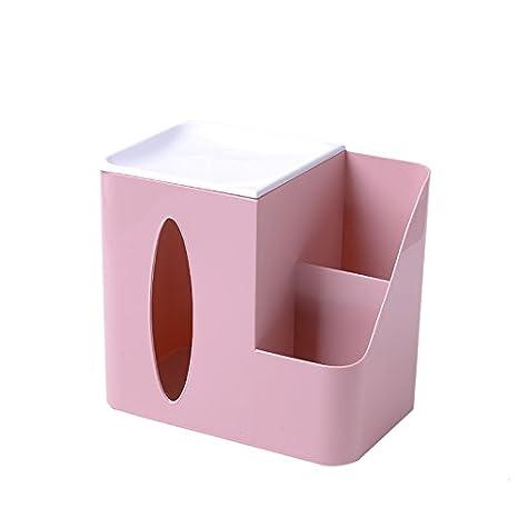 XXAICW Mando a escritorio multifuncional para tejido cajas almacenamiento cajas casa mesa libro caja invitado mesa salón, Rosa claro: Amazon.es: Hogar