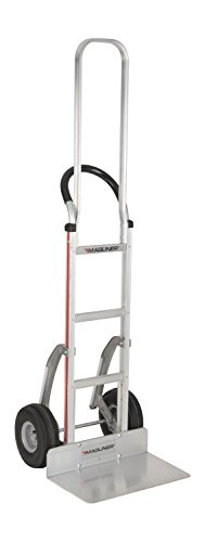 - Magliner HMK119K2C5E Aluminum Hand Truck, Horizontal Loop Handle with Vinyl Sleeve, 20