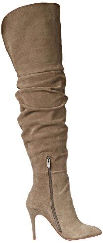 Boot Chinese Grey Knee Women's Kristin Slouch Cavallari Velvet Over the Calissa Laundry A1xAqOng