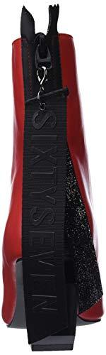 79790 Seven Stivaletti Donna Sixty lea Rojo C43570 Rosso 46fwxOpx