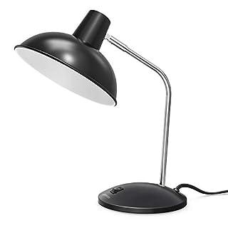 LEPOWER Metal Desk Lamp, Modern Study Table Lamps, Adjustable Office Desk Reading Light for Living Room, Bedroom and Office