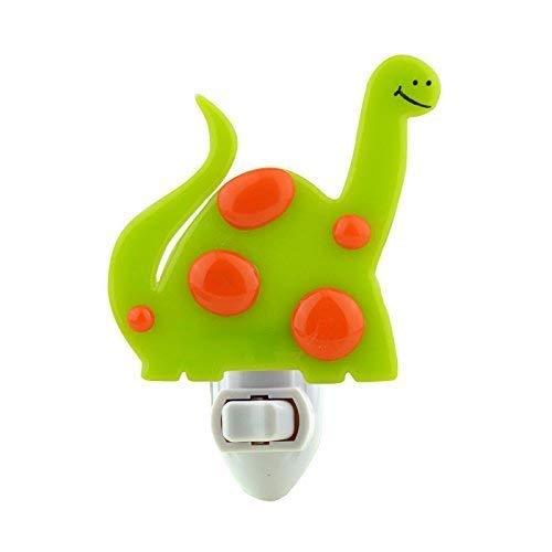 B0169Q7NEO Fused Glass Dinosaur Night Light (Lime Green) 31G-ivtjJ5L