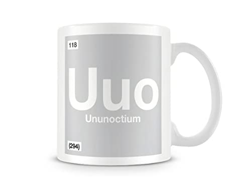 Periodic table of elements 118 uuo ununoctium symbol mug amazon periodic table of elements 118 uuo ununoctium symbol mug urtaz Images