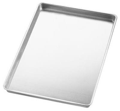 Wilton Jelly Roll Pan 10-1/2 inch X 15-1/2 inch Uncoated Aluminum