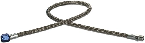 Design Engineering 080202 CryO2 Stainless Steel Braided Hose, 4AN Female x 1/8 NPT Male, 2'