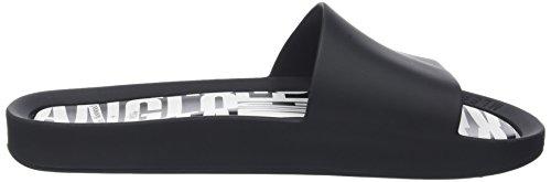 Vivienne Westwood & Melissa Women's Vw Beach Slide 19 Open Back Slippers Black (Black Orb) free shipping official Tj2X7qTt