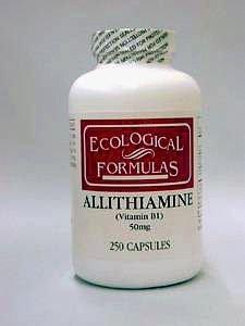 Allithiamine 50 mg 250 Caps par des formules écologiques