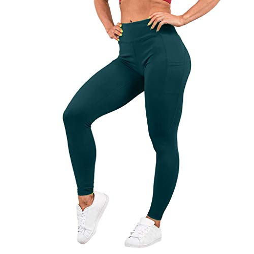 VEZAD Yoga Athletic Pants Women Fashion Workout Leggings Fitness Sports Gym Running