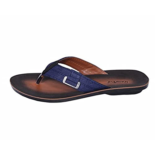 6ec286c4303f cheap Indistar Men PU and Fabric Flip Flop   Sandal House Slipper And Thong  Sandals-