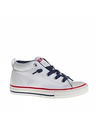 Converse Chuck Taylor All Star Street Mid - Zapatillas para niños blanco (Optical White)