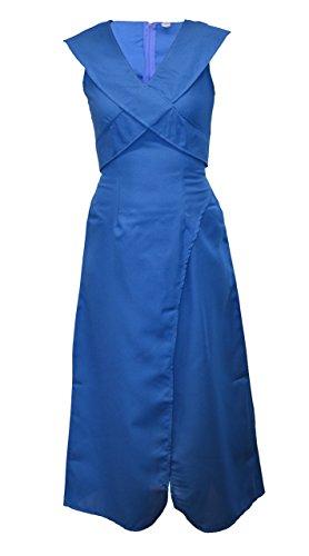 Worldtenda Daenerys Targaryen Khaleesi Dothraki Fancy Dress Costume Game of Thrones Blue Ladies Dragon Halloween Outfit - UK 8-10 by (Daenerys Costume Uk)