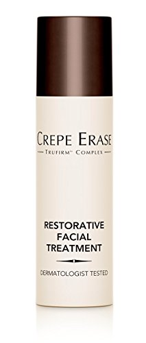 Crepe Erase TruFirm Complex – Restorative Facial Treatment – Nourishing Moisturizer – Coconut Oil for Fine Lines and Wrinkles – 0.5 Ounces – CS.0043