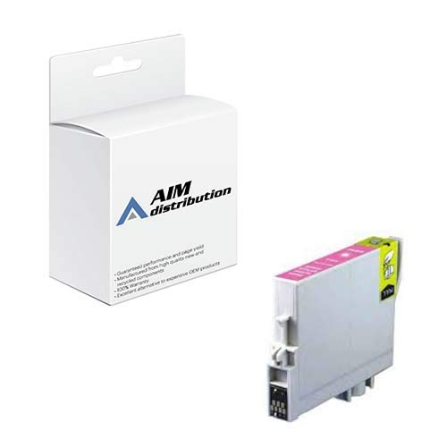 (AIM Remanufactured Replacement for Stylus Photo R2400 Light Magenta Inkjet (C13T059640-US))