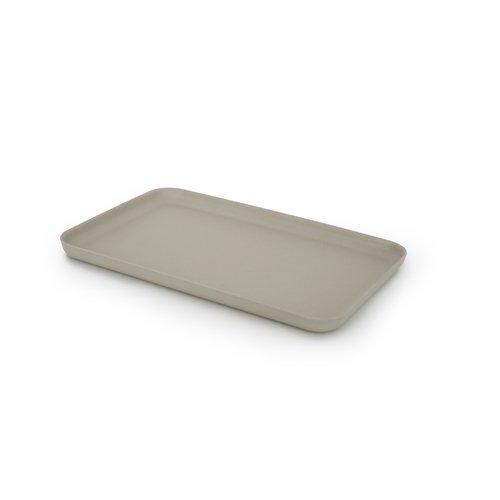 EKOBO Biobu Gusto Tray, Medium, Stone by EKOBO